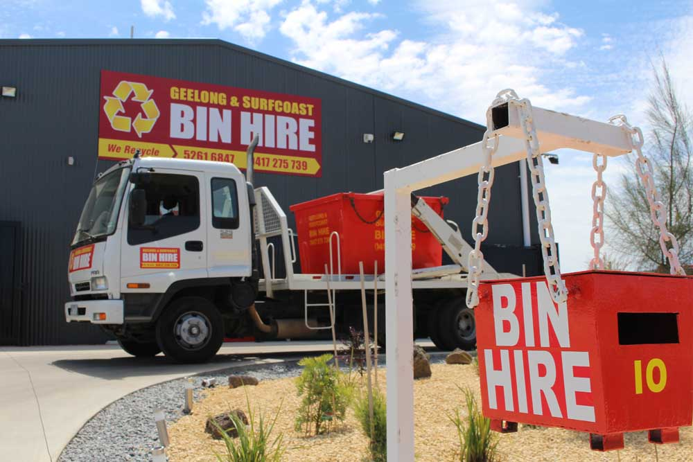 Geelong surf coast bin hire freehold and business for Freehold motor vehicle inspection station